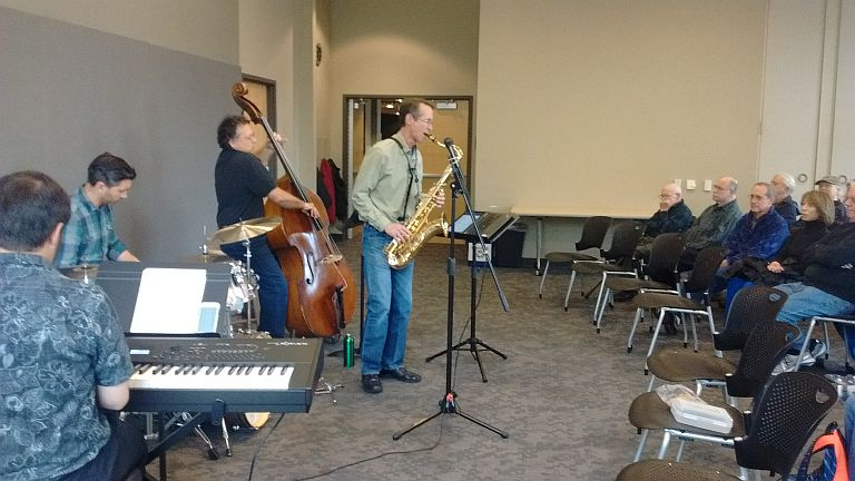 Bob Kerwin Quartet at Sequoya